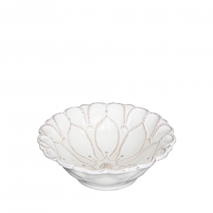 Juliska Jardins Du Monde Whitewash Blossom Bowl Set of 4
