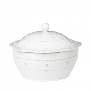 Berry & Thread Whitewash Covered Casserole