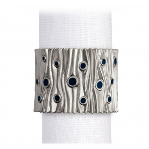 L'Objet Bois de Platine Napkin Jewels Set of 4