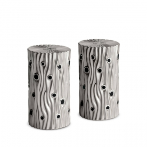 L'Objet Bois de Platine Spice Jewels Set of 2 Platinum