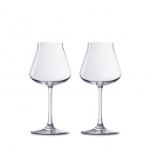 Baccarat Château Baccarat X-Large Glass Wine Set Of 2 Clear