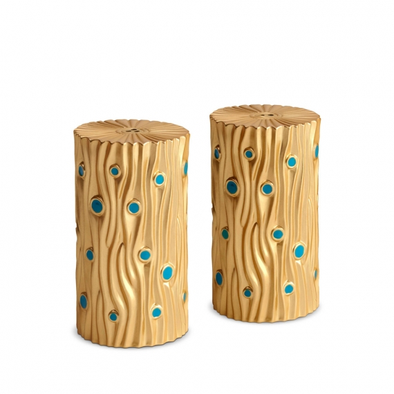 Bois d'Or Spice Jewels Set of 2 - Gold