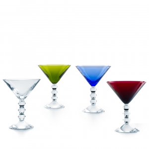 Baccarat Véga Martini Glass Set Multi