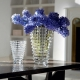 Baccarat Eye Vase Medium Clear