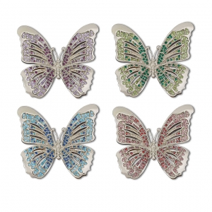 L'Objet Butterfly Napkin Jewels Set of 4