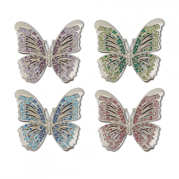Butterfly Napkin Jewels Set of 4