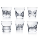 Baccarat Everyday Baccarat Classic Tumbler Set Of 6 Clear