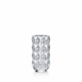 Baccarat Louxor Round Vase Small Clear