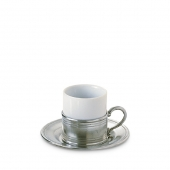 Espresso Cup with Saucer Set of 2