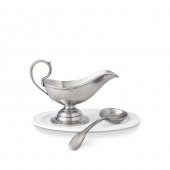 Gravy Boat with Gravy Spoon