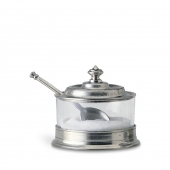 Jam Pot with Spoon