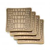 L'Objet Crocodile Coasters Set of 4