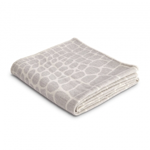 L'Objet Crocodile Jacquard Throw