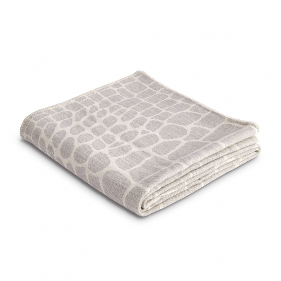 Crocodile Jacquard Throw