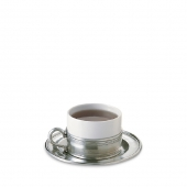 Cappuccino Cup with Saucer Set of 2