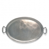 Oval Tray with Handles