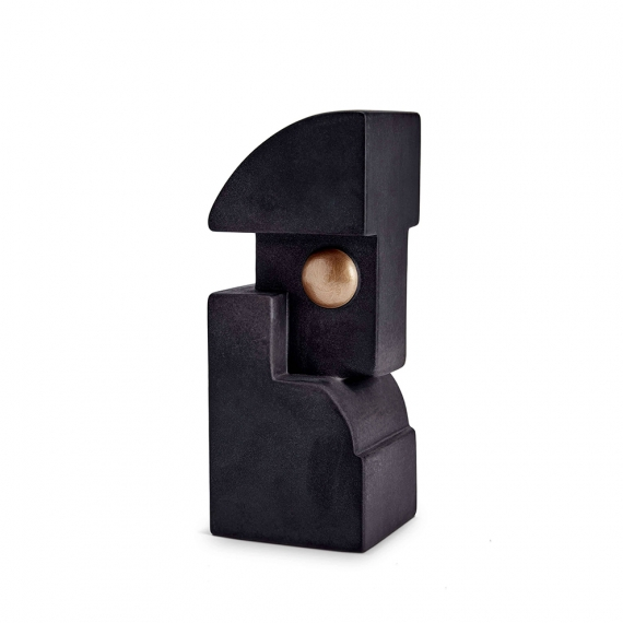 Cubisme Bookend One - Black