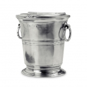 MATCH Pewter Ice Bucket With Lid Silver