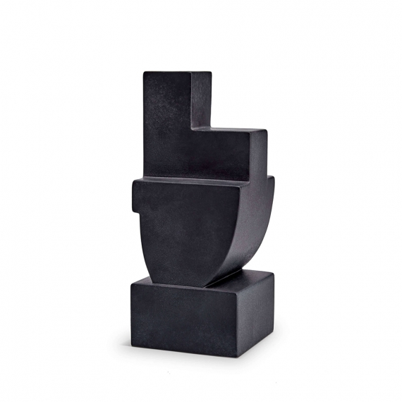 Cubisme Bookend Two - Black