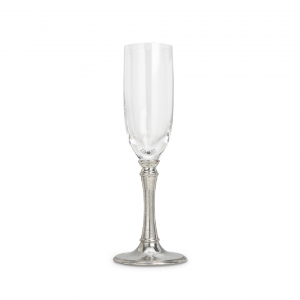 MATCH Pewter Tosca Champagne Glass Set Of 2 Silver