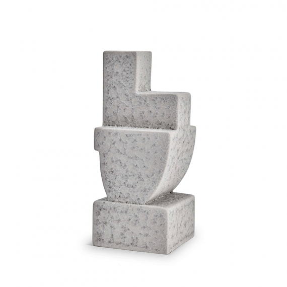 Cubisme Bookend Two - Grey