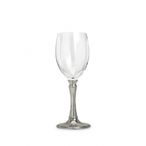 MATCH Pewter Tosca All Purpose Wine Glass Set Of 2 Silver