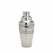 MATCH Pewter Cocktail Shaker Silver