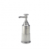 MATCH Pewter Impero Soap Dispenser Silver