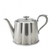 MATCH Pewter Britannia Tea Pot Silver