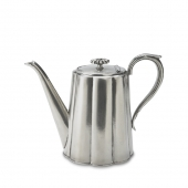 MATCH Pewter Britannia Coffee Pot Silver