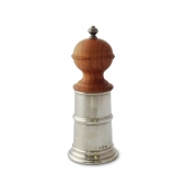 MATCH Pewter Wood & Pewter Salt Mill Silver