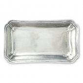 MATCH Pewter Lorenzo Rectangular Serving Dish Silver