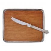 Bar Tray with Bar Knife Set