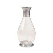 MATCH Pewter Extra Tall Carafe Clear
