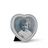 MATCH Pewter Heart Frame Silver