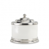 MATCH Pewter Convivio Cookie Jar White