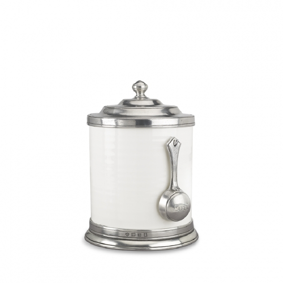 Convivio Caffe Canister with Scoop
