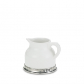 MATCH Pewter Convivio Creamer White