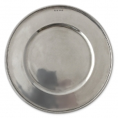 MATCH Pewter Convivio Charger Silver