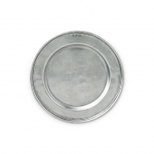 MATCH Pewter Convivio Bread Plate All Pewter Silver