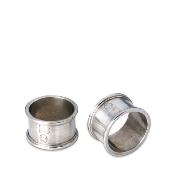 Round Napkin Ring in Pair