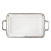 Luisa Rectangular Platter with Handles
