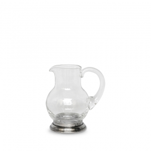 MATCH Pewter Glass Pitcher