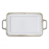 MATCH Pewter Gianna Rectangular Platter With Handles