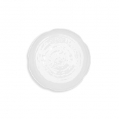 Q Squared Pearl Melamine Canape Plate Set Of 12 White