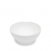 Q Squared Pearl Melamine Cereal Bowl Set Of 8 White