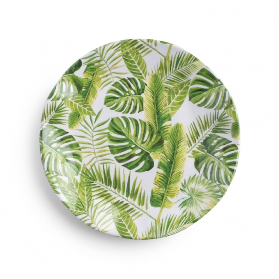 Palm Melamine Salad Plate Set of 8