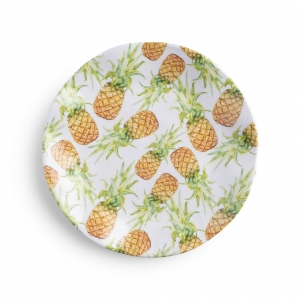 Aloha Melamine Salad Plate Set of 4