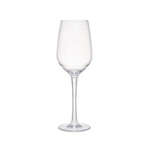 Q Squared Hudson Tritan Acrylic White Wine Glass Set Of 8 Clear