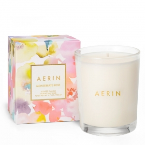 Aerin Monserrate Rose 6.7oz Candle Cream